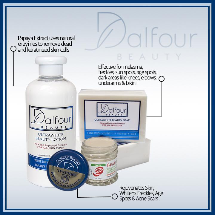 Dalfour Beauty Whitening Set