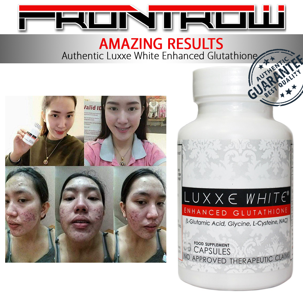 NEW Authentic Luxxe White Enhanced Glutathione & Luxxe Protect Pure  Grapeseed Extract - SET