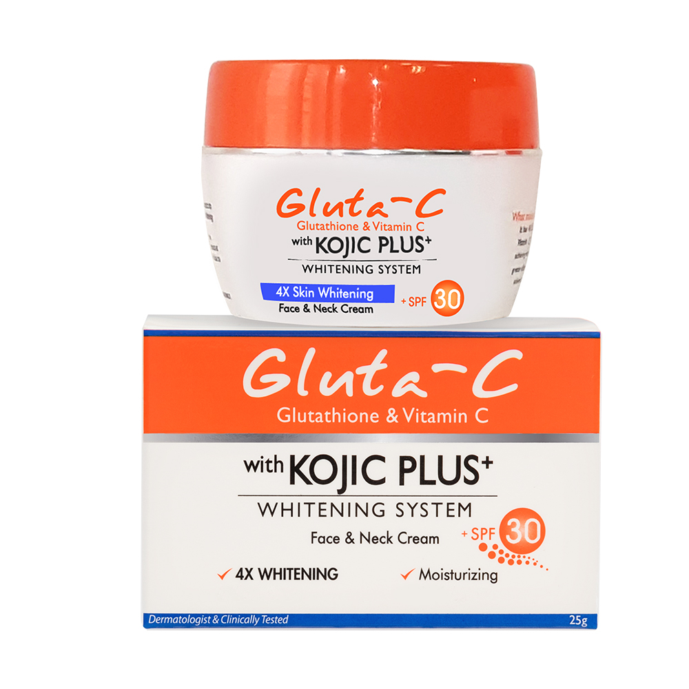 Gluta-C Face and Neck Cream with Kojic Plus+ SPF 30