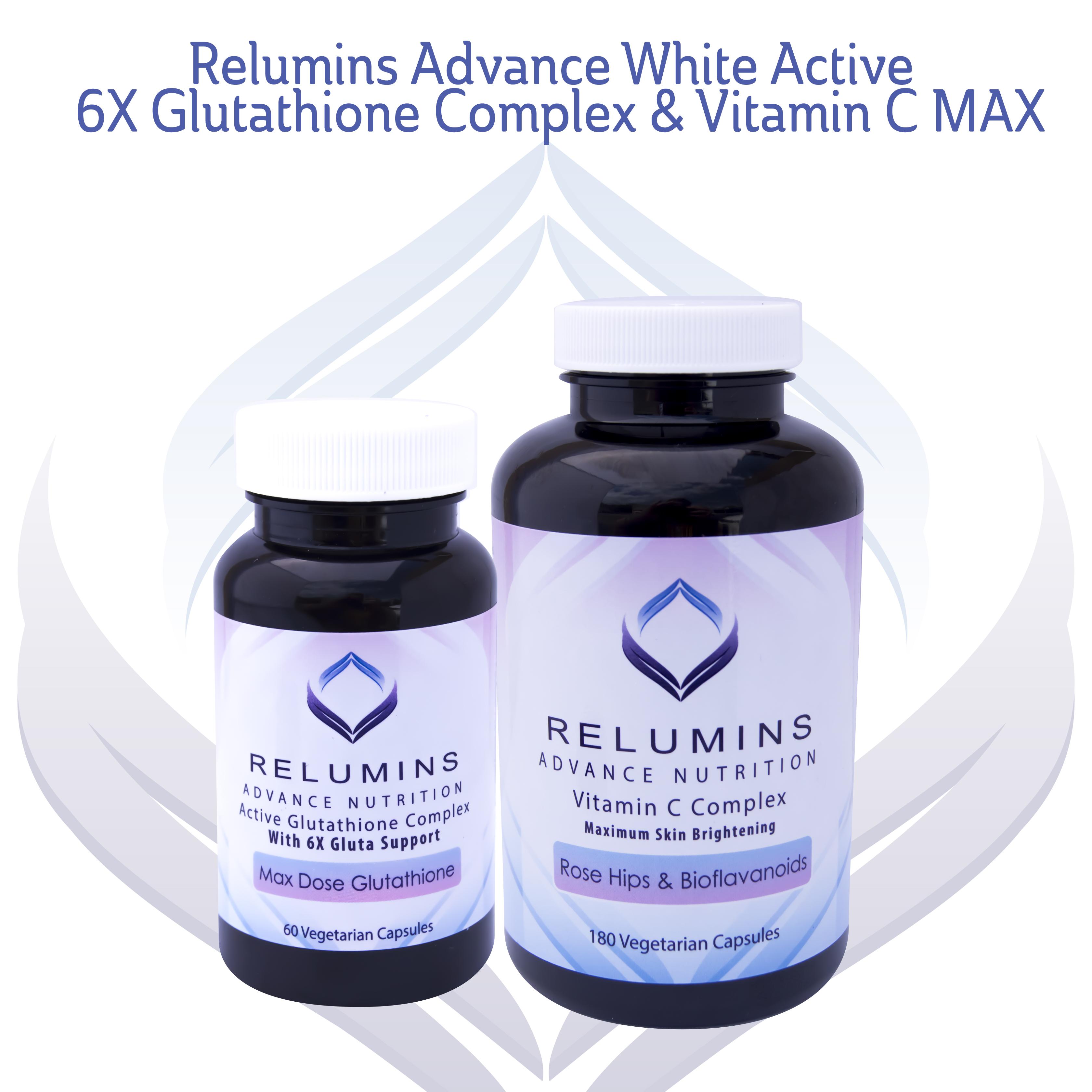 Relumins Advanced Nutrition Active 6x Glutathione Complex Vitamin White C Vit Collagen Quick View