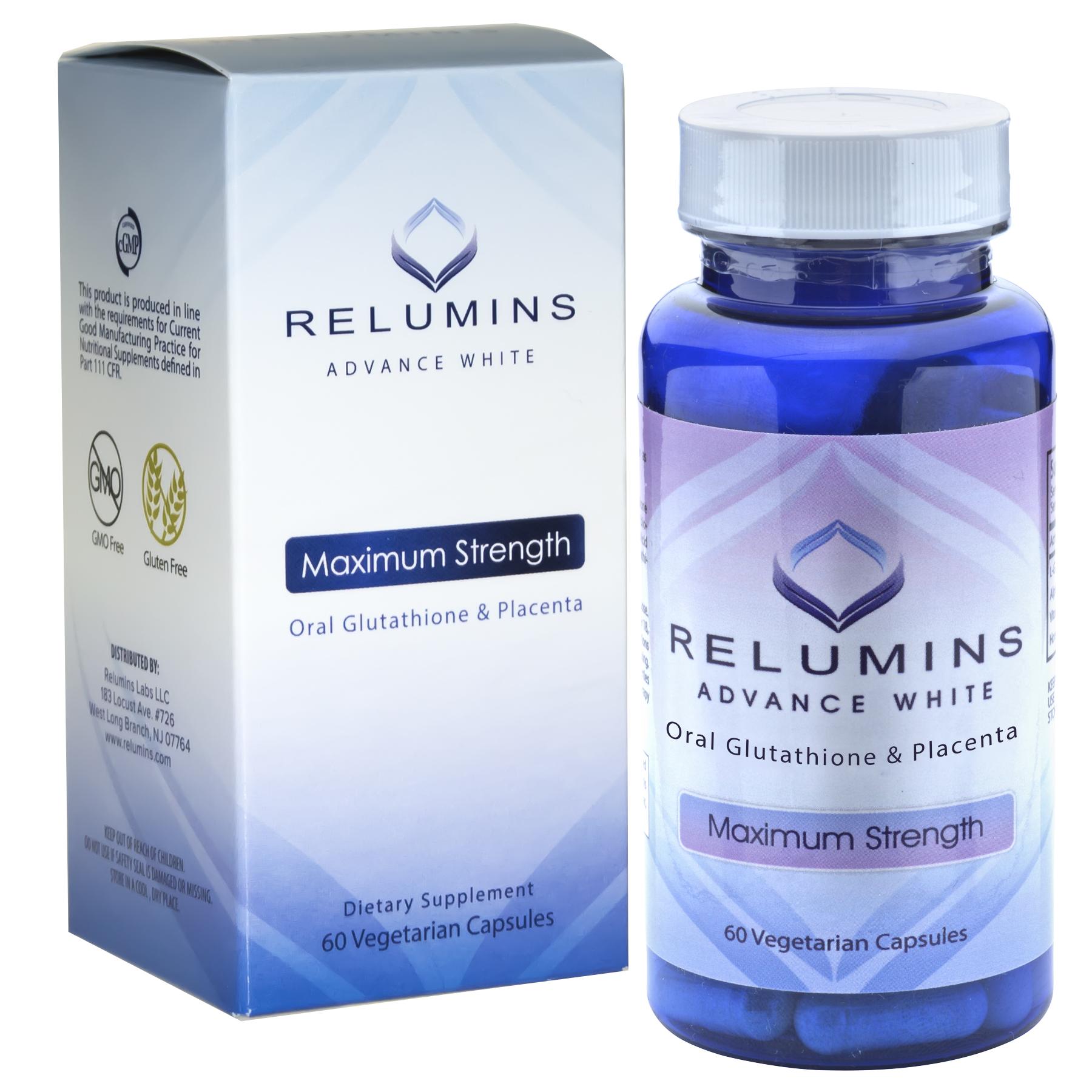 Authentic Relumins Advanced White Oral Whitening Formula
