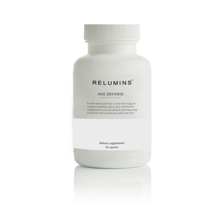 New! Relumins Age Defense - Slow down the clock with our blend of powerful anti aging properties.