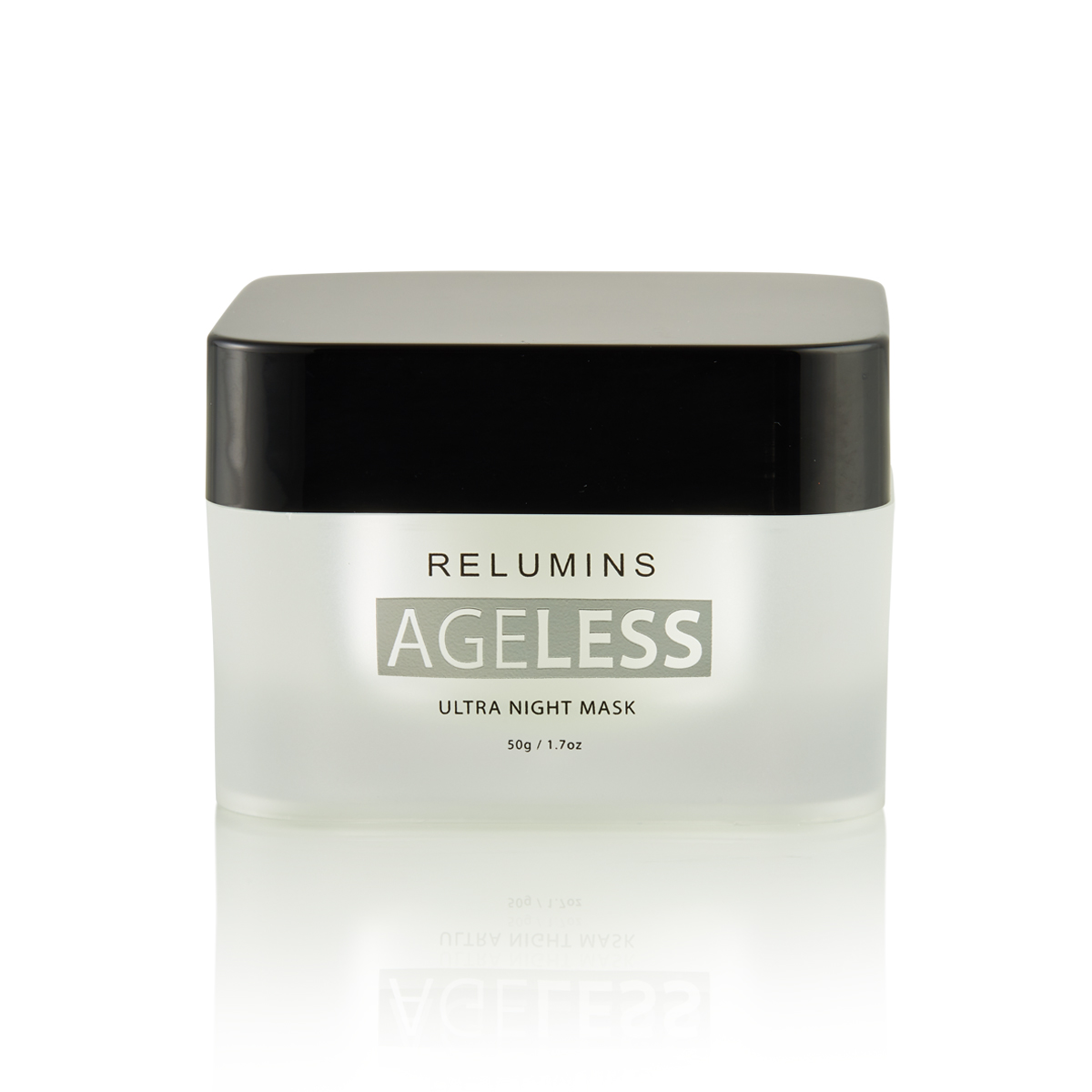 NEW! Reverse signs of aging overnight with RELUMINS AGELESS Ultra Night mask