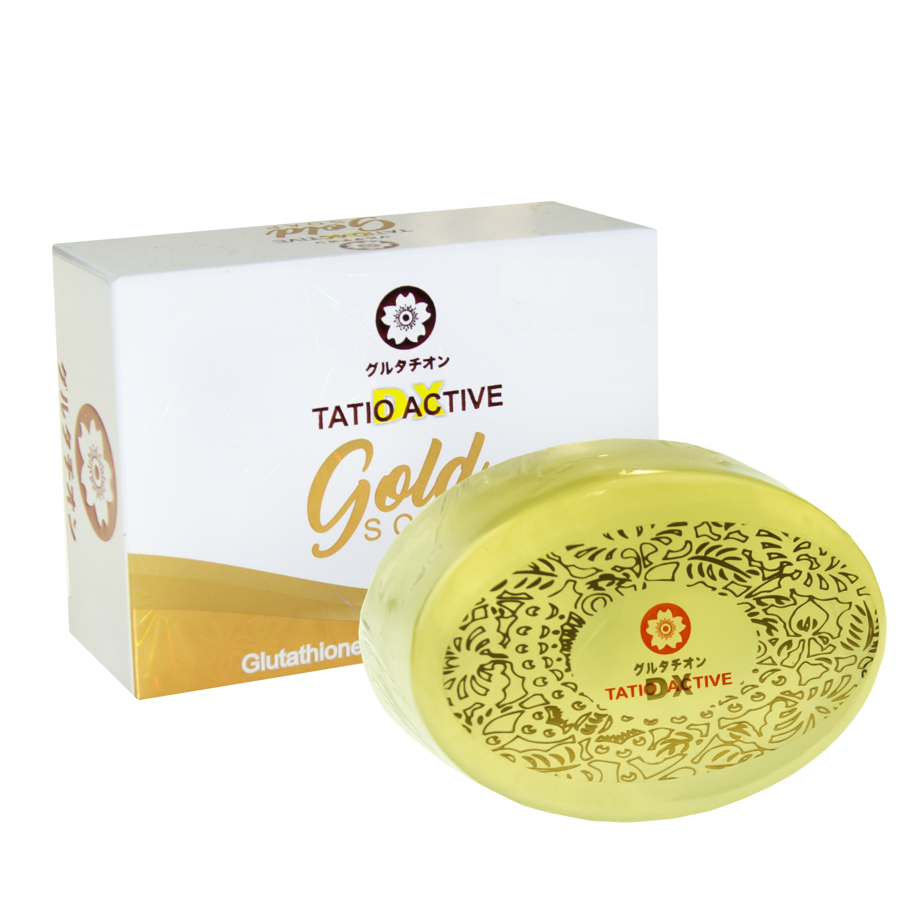 NEW! Tatio Active Gold Glutathione Whitening Soap 150g - Great for all skin types!