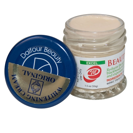 Authentic Dalfour Beauty Gold Seal EXCEL Whitening Cream ...