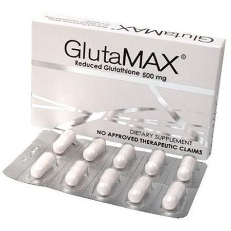 GlutaMAX Reduced Glutathione & Sodium Ascorbate Capsules - 10 Capsules
