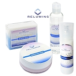 Authentic Relumins Advance White Facial Set MAX - TA Stem Cell Premium Day Cream, Intensive Repair Toner, Soap, and Serum
