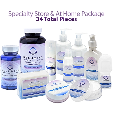 Flawless Specialty Store & At-Home Reseller Start-up Package - 34 Total Pieces! 35% Off Retail Value!