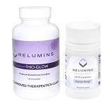 Relumins Thio-Glow Chewable Dissolvable Glutathione Complex with Biotin with Booster