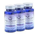Buy Bulk & SAVE! 3 Bottles Authentic Relumins Advanced White Oral Whitening Formula Capsules - Whitens, repairs & rejuvenates skin - NEW AND IMPROVED now with Rose Hips