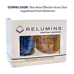 Relumins Oral Acne Treatment - Dermatologist Formula - Dual Capsule For Clear Skin - Protects Against Acne Scars - Coming Soon