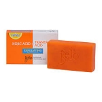 NEW Belo Intensive Kojic & Tranexamic Acid Whitening and Exfoliating Soap - 65g - With Lemon Scrubs