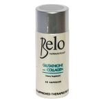 Belo Nutraceuticals Glutathione + Collagen Dietary Supplement  30 Capsules