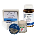 Authentic Dalfour Beauty Face Whitening Set With Ultrawhite Soap, Excel Cream and  Glutathione Capsules
