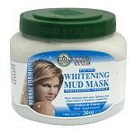 Hollywood Style Facial Whitening Mud Mask - Professional Formula -  Large 20oz Jar