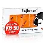 Kojie San Skin Lightening Kojic Acid Soap 3 Bars - 65g