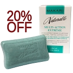 SALE 20% OFF!! Makari Naturalle Multi-action Extreme Lightening Exfoliating Purifying Soap Enriched with Argan and Sweet Almond Oil, SPF 15, 7.0 Oz.