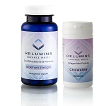 Authentic Relumins Oral Glutathione & Collagen Stack - Advance White Oral Glutathione & Advance White Collagen Max Chewables - NEW with Rose Hips
