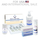 RELUMINS GLUTATHIONE VIALS - ADVANCED FORMULA 7500MG - Complete Skin Lightening Set