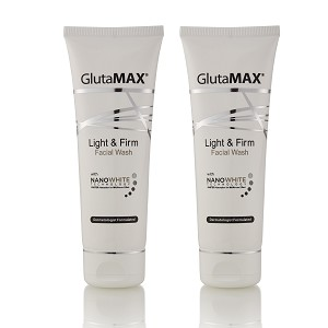 GlutaMAX Light and Firm Facial Wash  - With Cell Active Mirco Scrub Technology
