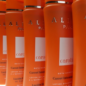 Buy Bulk & SAVE!  5 Tubes Authentic Aliya Paris Carotiq Carrot Intense Lotion - Buy 2 Get 3 FREE!
