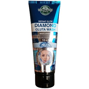 NEW! Hollywood Style Instant Glow Diamond Gluta Wash with White Effect 100ml