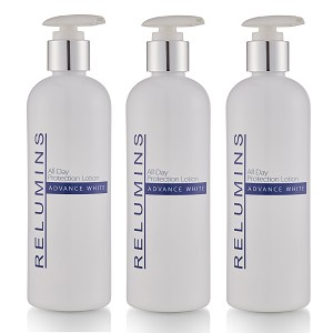 Buy Bulk & SAVE!  3 Bottles of Authentic Relumins Advance White Stem Cell Therapy All in One Day Lotion - Buy 2 Get One Free!