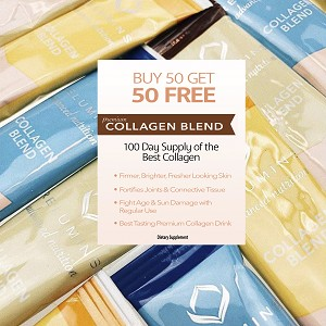Buy Bulk & SAVE! 100 Sachets Relumins Premium Collagen - Buy 50 Get 50 FREE - 100% Premium-Grade ActuMarine Collagen with Glutathione Green Tea CoQ10