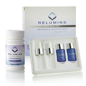 Now In Stock! Relumins Oral Glutathione Spray  Vials - New Advanced Formula 3000mg  Plus Zinc PLUS Gluta Booster - Professional Skin Whitening  and Immune Support