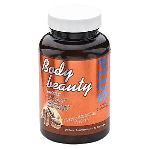 2 Bottles of Authentic Body Beauty Plus 5 Days Slimming Coffee Capsules- Advanced Slimming Formula