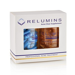 BOGO!!! Relumins Oral Acne Treatment - Dermatologist Formula - Dual Capsule For Clear Skin - Protects Against Acne Scars