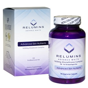 Relumins Advance White 1650mg 15x Glutathione Complex – For Dermatologist Use