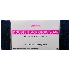 Authentic Arbutin & Licorice Black Soap - Whitening Beauty Bar - SAMPLE SIZE