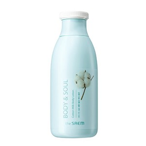 Benefits of The SAEM Body & Soul Cotton Milk Body Lotion 300ml