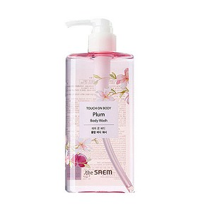 The SAEM Touch On Body Plum Body Wash