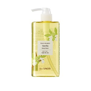 The SAEM Touch On Body Vanilla Body Wash