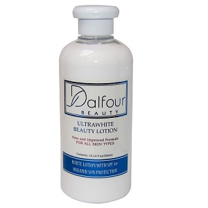 2 Dalfour Beauty Ultrawhite Body Lotion -300ml -Deep Whitening & Exfoliating