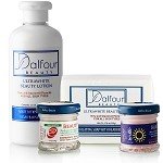 Authentic Dalfour Beauty Face & Body Whitening Set With Excel Creamy & Gluta Sunblock