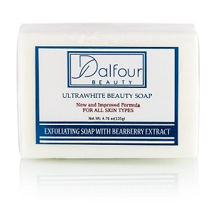 3 Bars of Dalfour Beauty Ultrawhite Beauty Soap - Great for All Skin Types!
