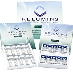 5 Sets of Authentic Relumins Advanced Glutathione 1400mg - Glutathione & Vitamin C - NO BOOSTER - International