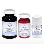 NEW! Relumins Advance Nutrition Gluta 1000, Vitamin C MAX & Booster Capsules - Ultimate Whitening Set - NEW AND IMPROVED now with Rose Hips