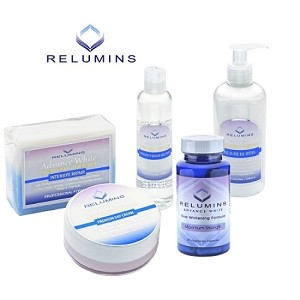 Authentic Relumins Advance Day Whitening and Protection Set - Protects your skin from environmental damage